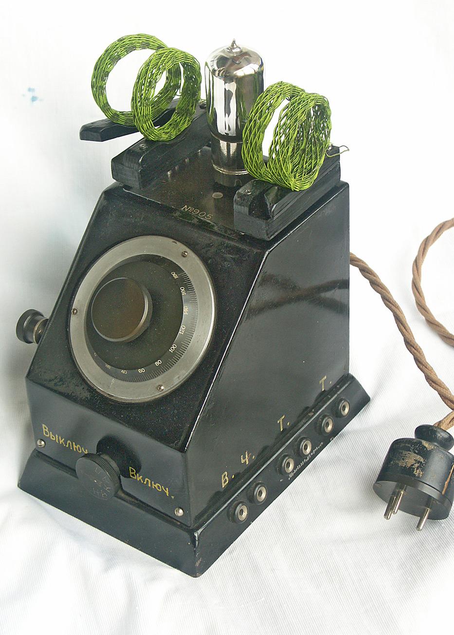 Одноламповый батарейный радиоприёмник Л.Б.2 (ЛБ-2)