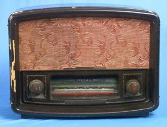 Радиоприёмник Звезда 1951 года выпуска